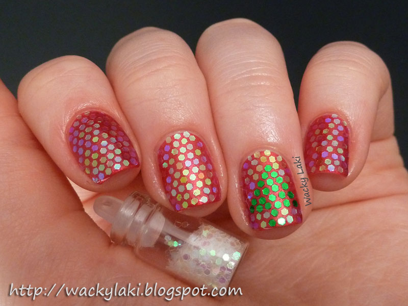 Wacky Laki Nail Polish Canada Holiday Nail Art Challenge