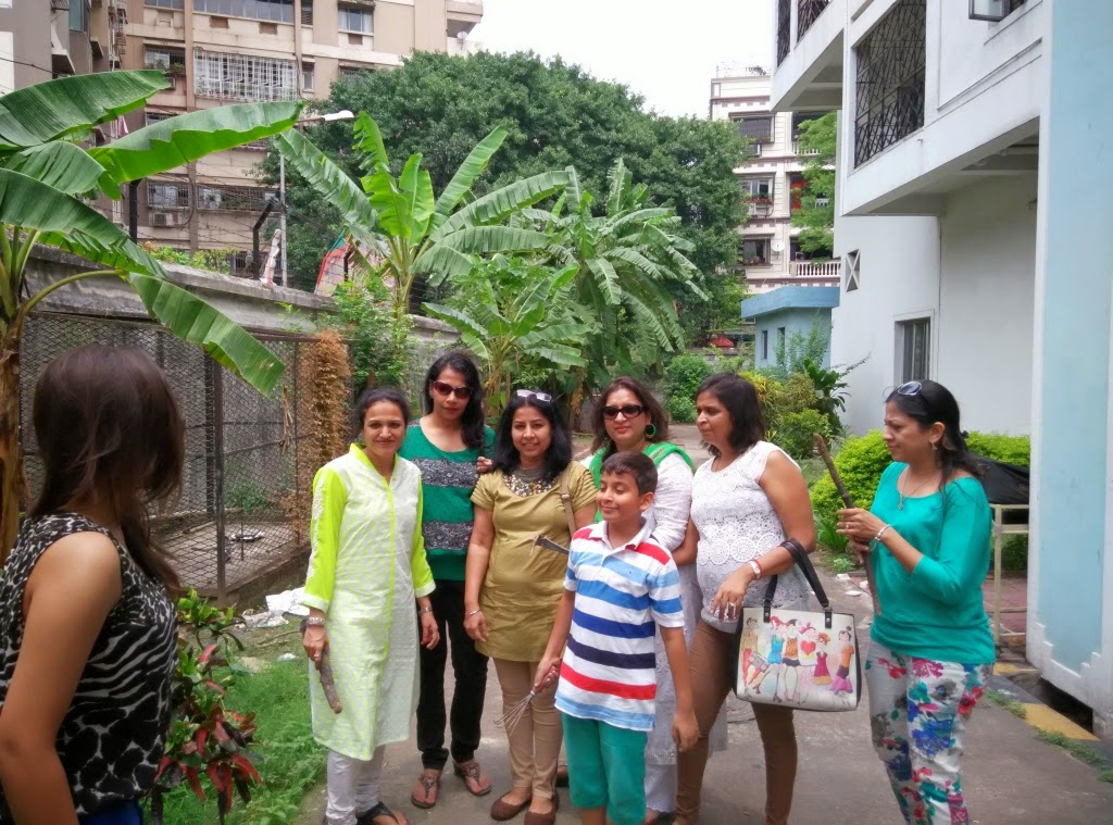 The fruit trees at Mulvany House was also planted by this dedicated team from Inner Wheel Club Metro Maidan, led by Neetu Bajaj.