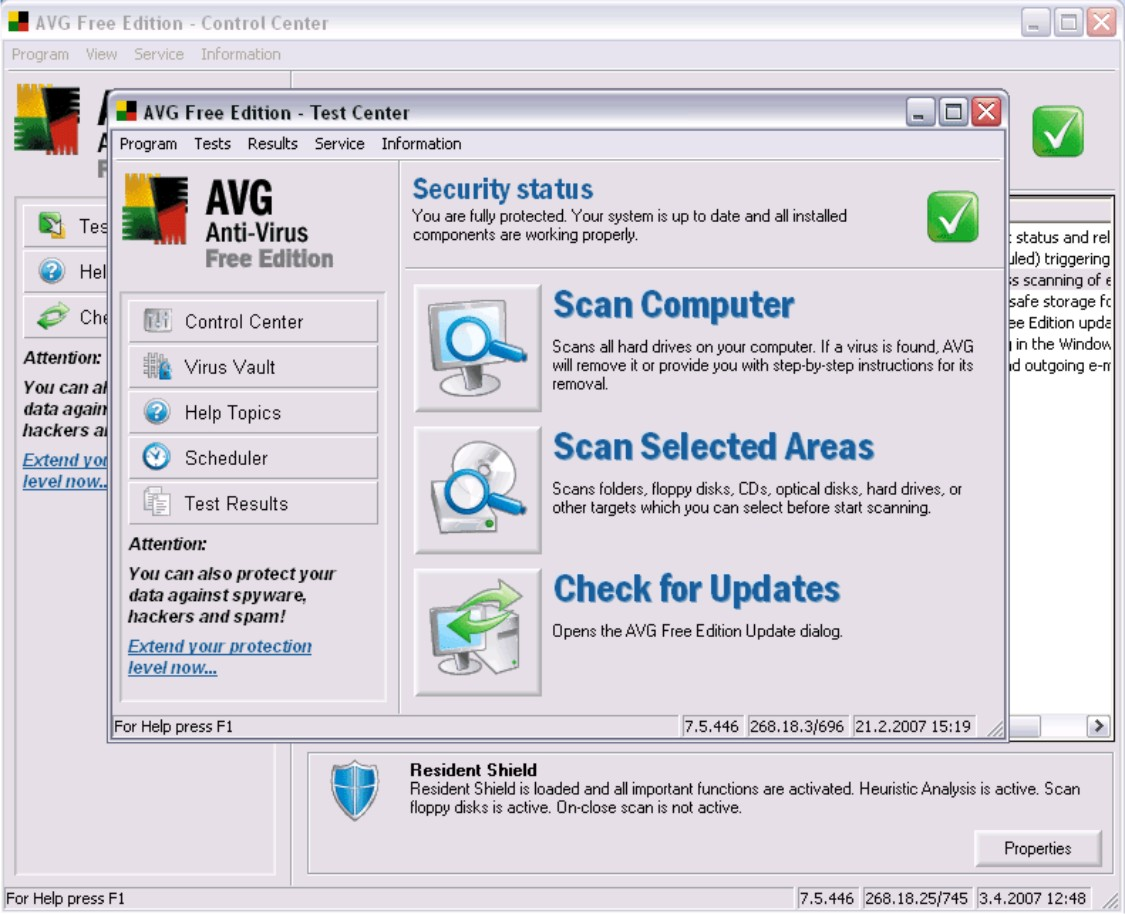 AVG Antivirus 2013 Overview