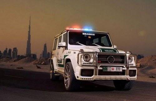 Dubai Police Cars