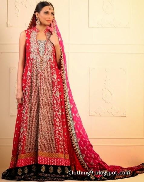 zainab chottani bridal 2015 in Pret