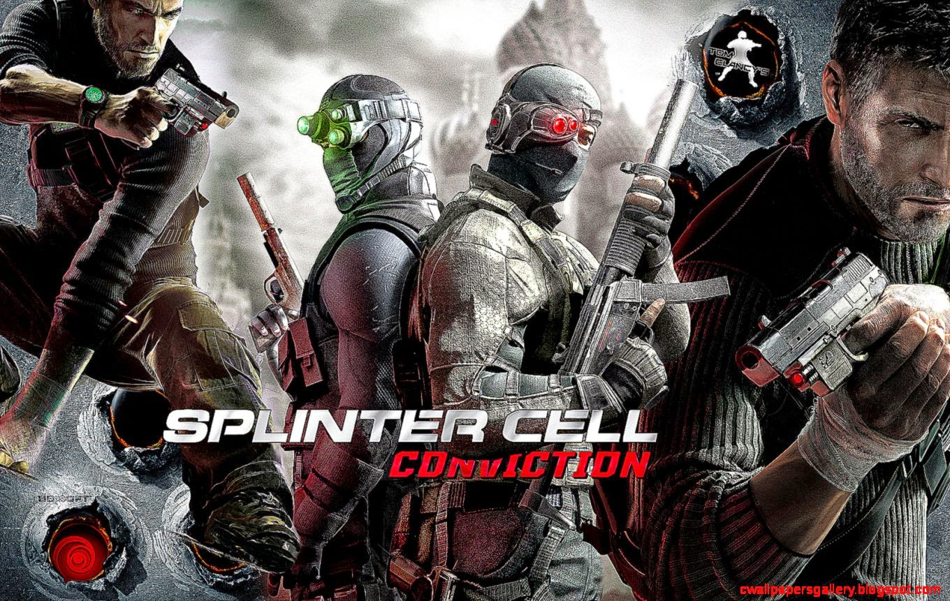 28 Tom Clancy39s Splinter Cell Conviction Wallpapers  HD