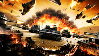 World of Tanks Online Game Destroyed Tank HD Wallpaper