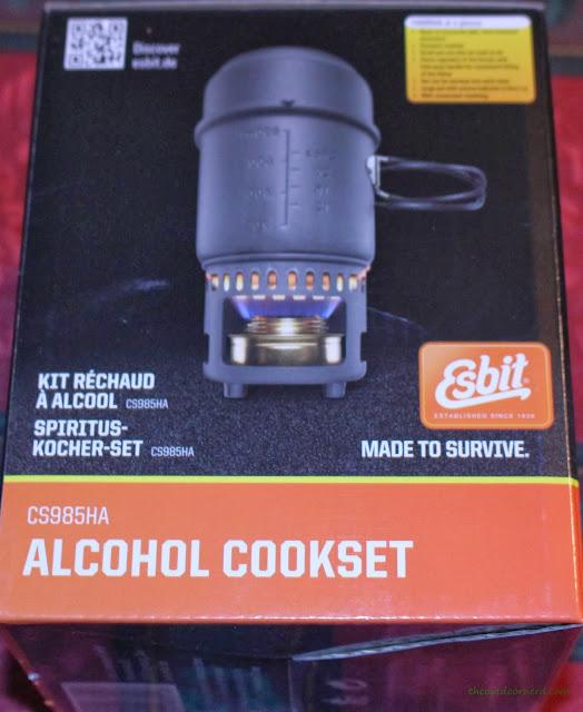 Esbit 5-Piece Trekking Cook Set - In Box 1