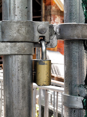 Padlock, #TavernontheGreen Reconstruction, Central Park, New York City