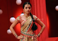 Hot, actress, trisha, saree, pics