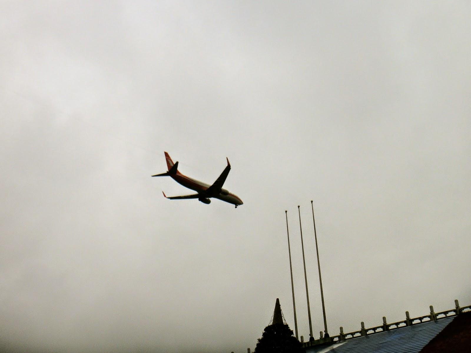 Flight from Songshan Airport Taipei