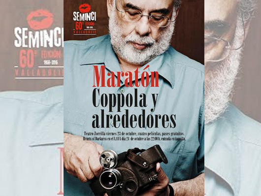 La 60ª SEMINCI proyectará mañana un maratón de Francis Ford Coppola