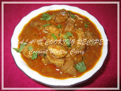 Coconut Mutton Curry