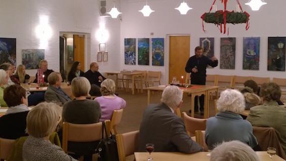 Henrik Fischer fortæller om sine skulpturer