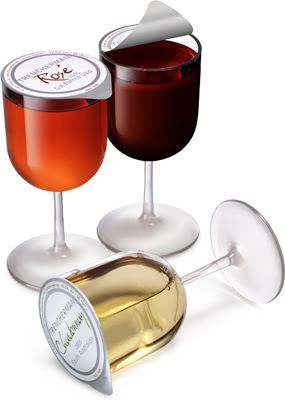 Wine Innovations, disposable glass, tulip goblet