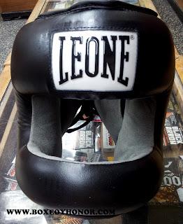 casco,boxeo, barra,leone