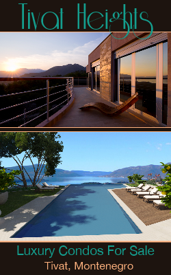 Luxury Condos For Sale or Rent Long Term in Tivat