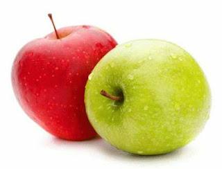 apel makanan sehat