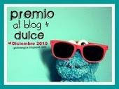 Primer premio al blog mas dulce!
