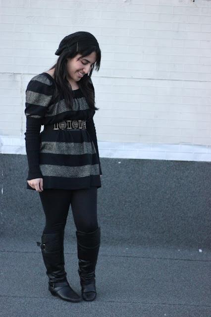 Long Sleeve Sweater Dress