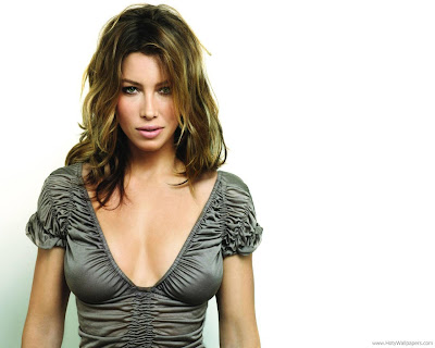 Jessica Biel Wide Screen Wallpaper Hollywood Actress