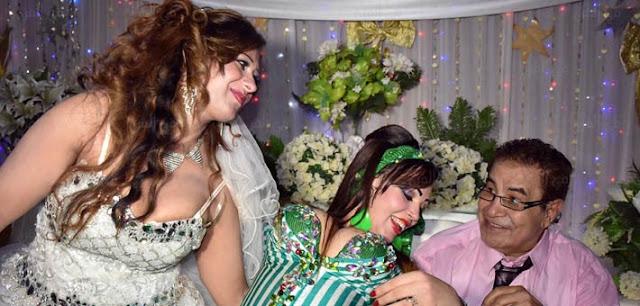 صور حفل زفاف الفنان سعيد طرابيك على سارة طارق بفستان عارى وصور فرح الفنان سعيد طرابيك كاملة