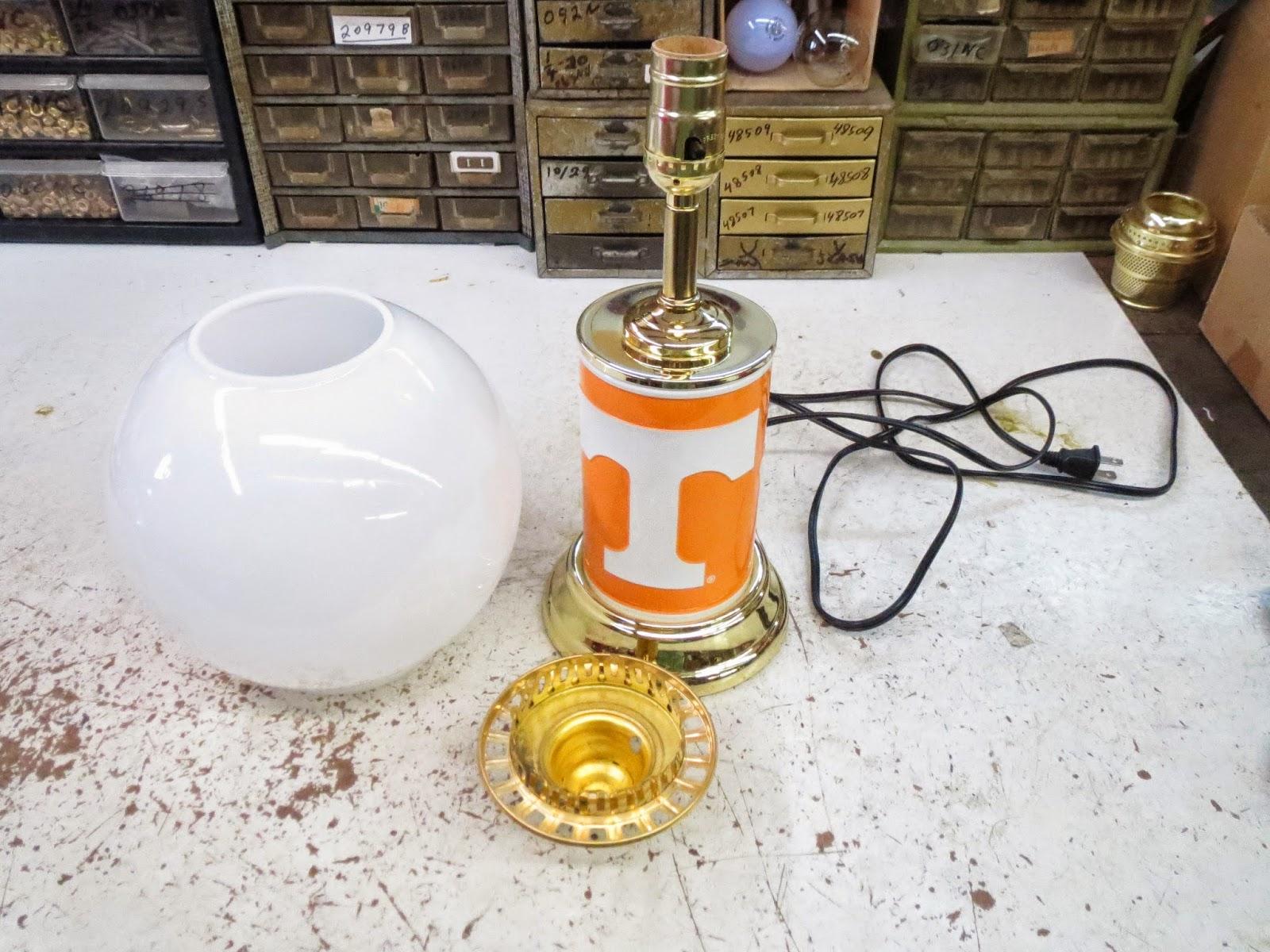 Lamp Parts And Repair Lamp Doctor Tennessee Vols Lamp