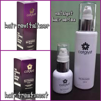 HAIR TREATMENT & HAIR REVITALIZER CATALYST
