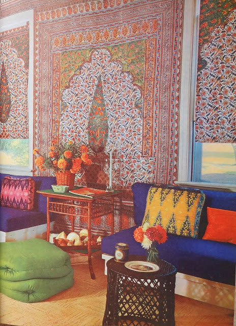 Vintage Decor Images, Hippie Houses, Vintage Modern Decor, Vintage Morrocon Living Room