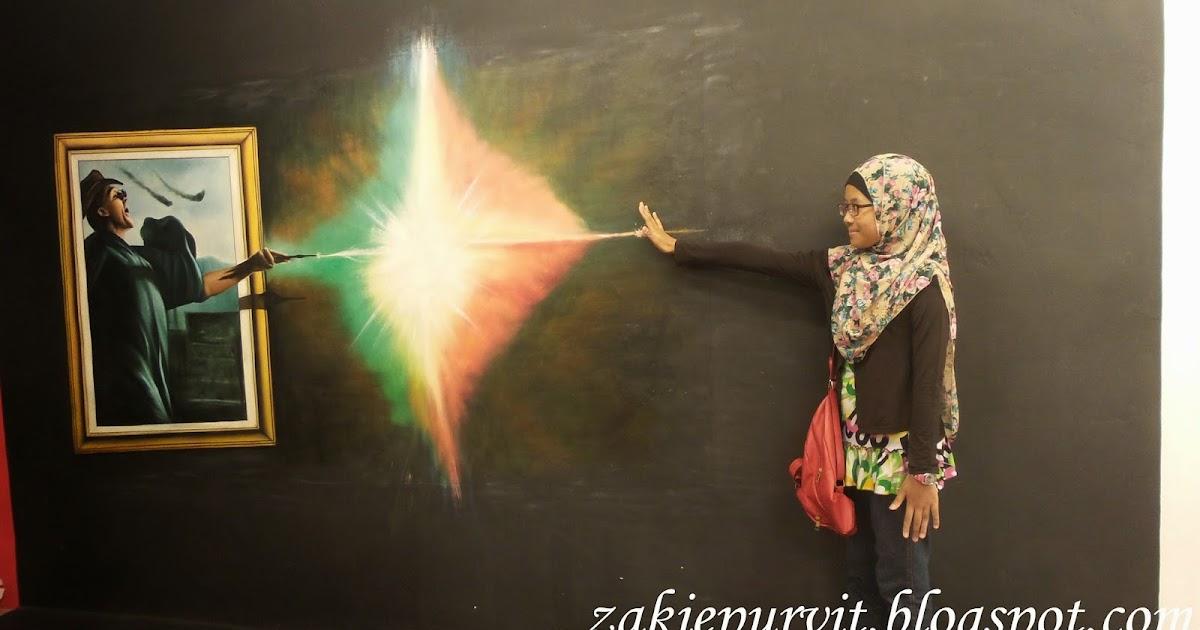 TITISAN NURANI Kuso 3D Art Di Johor Bahru