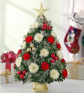 Christmas Flower Decorations 2012