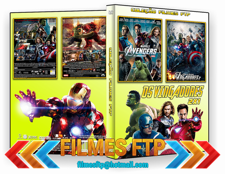 Coleção Os Vingadores 2 Em 1