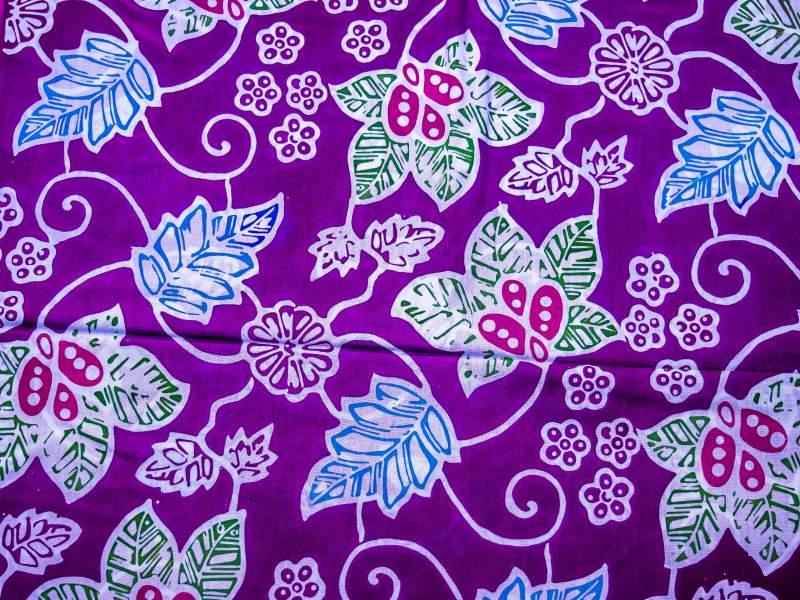 Macam Batik Flora dan Penjelasannya - Batik Indonesia