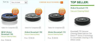 modelos roomba mas vendidos