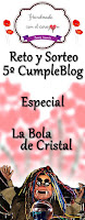 Reto y sorteo 5º cumpleblog