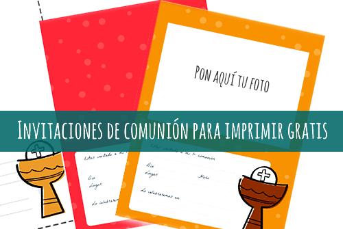 formato tarjeta comunion: