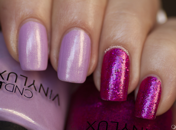 CND Vinylux BECKONING BEGONIA #189 BUTTERFLY QUEEN #190