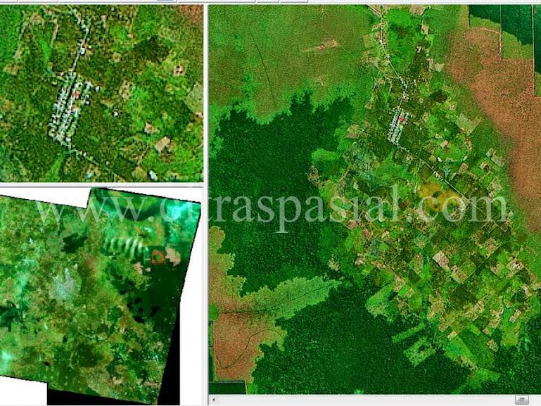CITRA SPOT 4, Pengolahan Data Citra Satelit, Project Pengolahan Citra, Citra Satelit Resolusi Menengah,