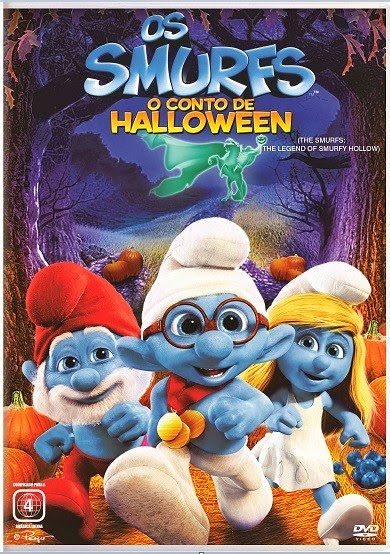 Download - Os Smurfs O Conto de Halloween - DVDRip AVI Dual Áudio + RMVB Dublado ( 2013 )