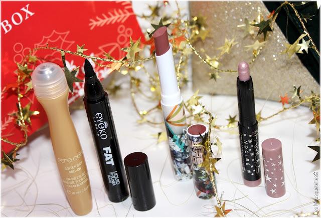 Pretty Merry Christmas de Birchbox VS Contes de Noël de Glossybox ! Battle en décembre 2015 - Être Belle, Eyeko, Teeez et Nocibé - Les Mousquetettes©