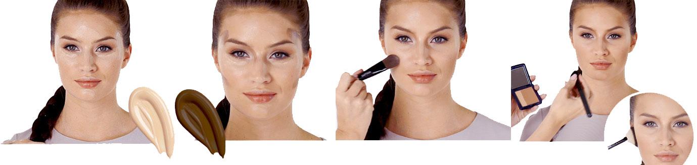Contorno Maquilhagem - Tutorial passo a passo da Oriflame