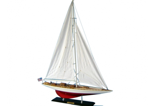 Yacht Ranger Wooden Sailboat Model