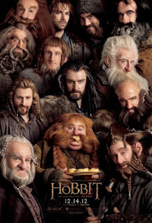 Poster for 2012 film The Hobbit