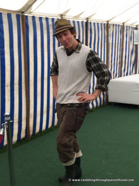 Meet Mr Bloom of CBeebies at Geronimo Fabulous Family Festival 2015