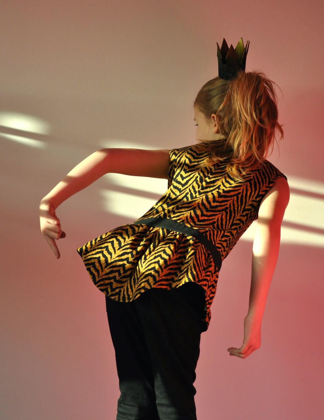DIY topje naaien sewing SVDHZ stof voor durf het zelvers michael miller