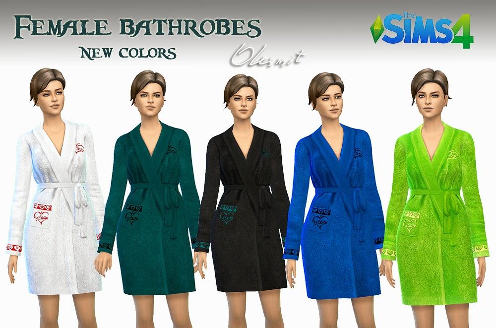 Женская повседневная одежда - Страница 3 Female%2Bbathrobes