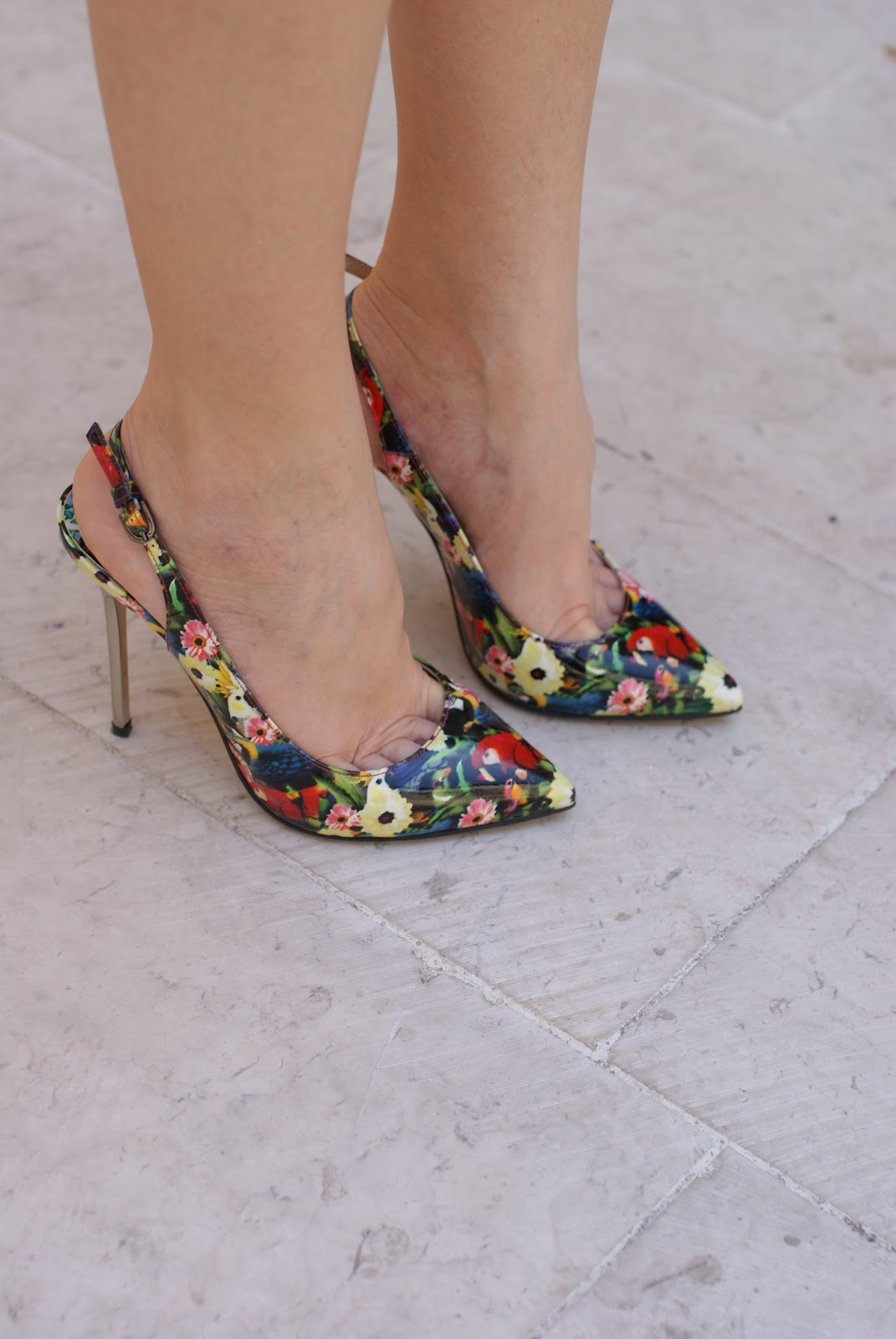 floral heels, Michele Muzi heels, Fashion and Cookies, fashion blogger, fashion blog