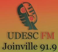 Ráedio UDESC FM de Joinville ao vivo