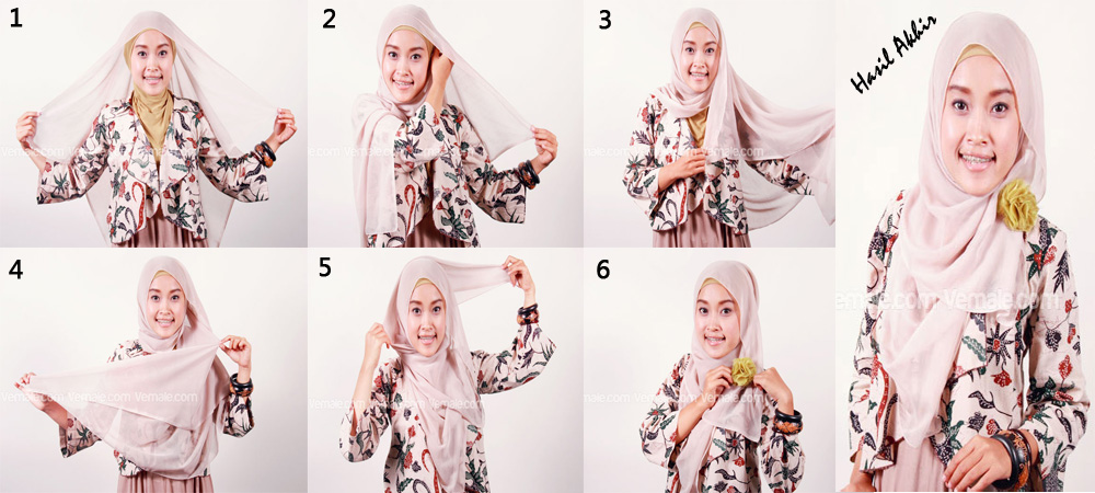 Cara Memakai Jilbab Segitiga | newhairstylesformen2014.com