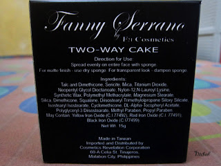 Fanny Serrano Two-Way Cake, foundation