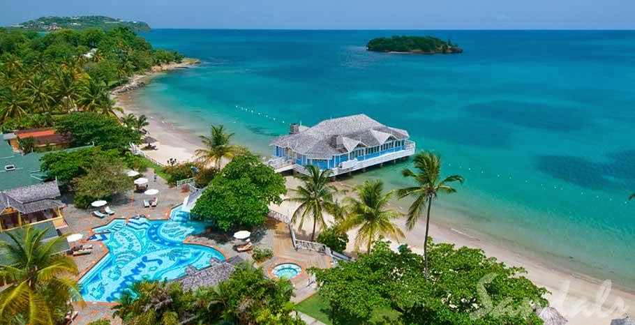 Sandals Halcyon Beach Hotel St Lucia