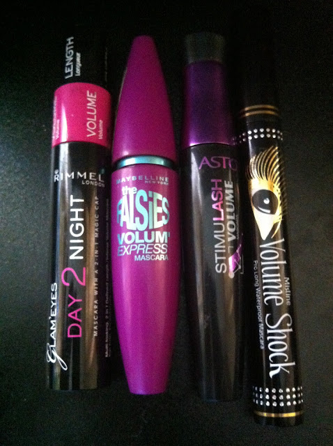 mascara review rimmel day 2 night mascara maybelline falsies mascara