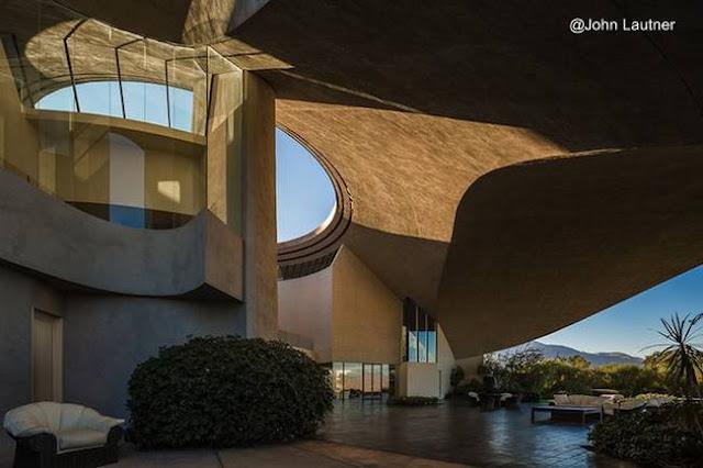 Residencia en Palm Springs obra de John Lautner