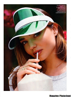 Miranda Kerr Photos from Lucky Magazine Cover June/July 2014 HQ Scans